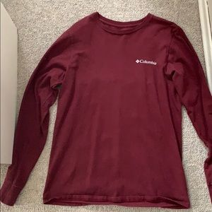 Maroon long sleeve. Very comfy.